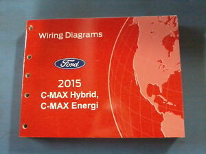2015 FORD C-MAX ENERGI & HYBRID WIRING DIAGRAM MANUAL | eBay