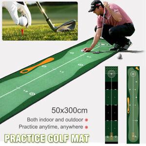 Golf-Putting-Matte-50-300cm-Golfmatte-Ubungsmatte-Training-Matte