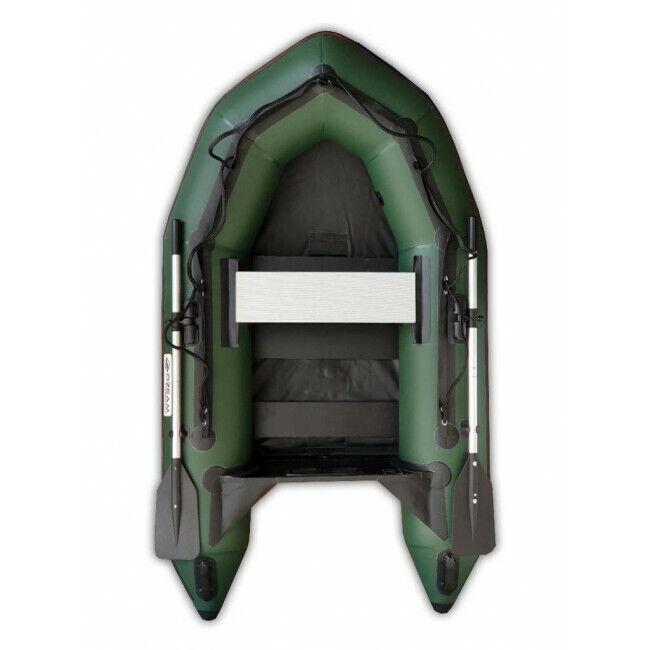 A0308 Ozeam 200 Plate Slat Floor verde Tender verde Carpfishing Canot Pêche