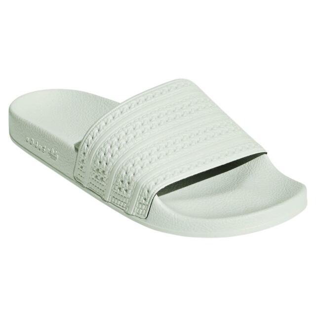 hot sale online a4f45 dcd8c Adidas Originali Adilette Fermacapelli Verde Spiaggia Vacanze Pool Gym 3  Strisce