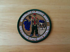 Boy Scout Patch Webelos Classic Growing Into Boy Scouts 2007