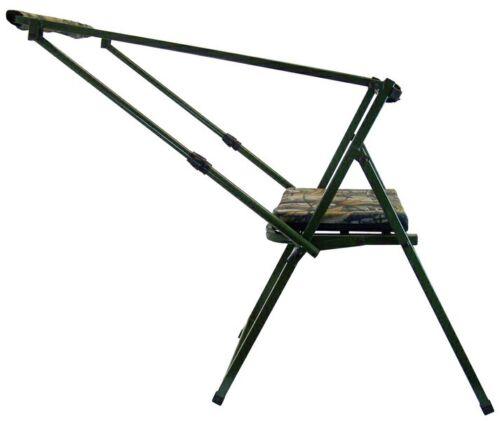 2 x Ansitz Hochsitz Bocksitz Stuhl Ansitzstuhl Schiessstuhl mit Auflage klappbar