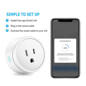 Smart-US-EU-Plug-WiFi-Power-APP-Remote-Socket-For-Amazon-Alexa-Google-eWeLink-P1