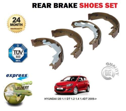 HYUNDAI i20 1.1 1.2 1.4 DT 1,4 DT 2009 /& GT arrière frein à main ensemble Chaussure Frein à Main