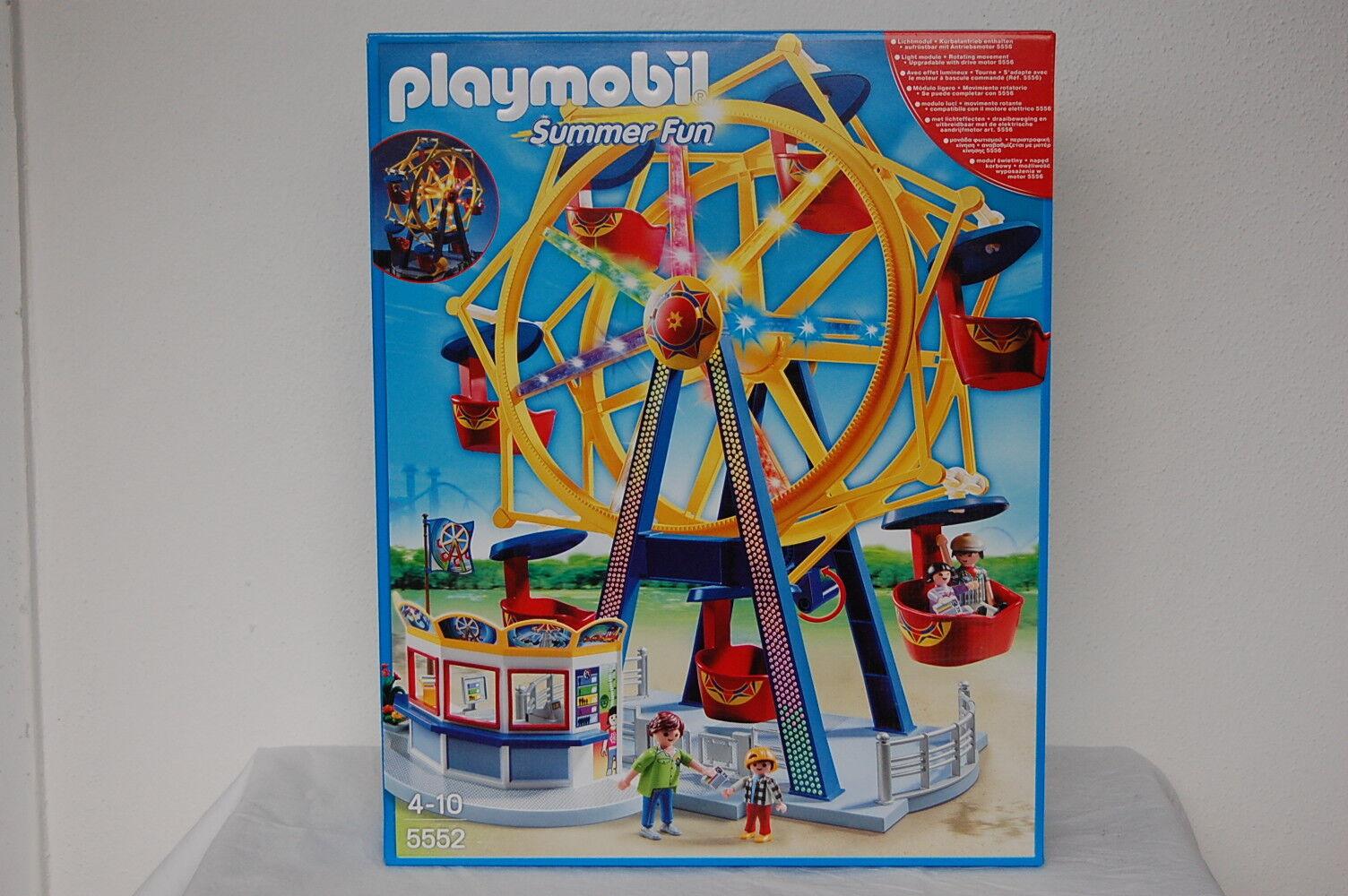 PLAYMOBIL 5552 Riesenrad mit bunter Beleuchtung Beleuchtung Beleuchtung  Neu OVP 5e67ed