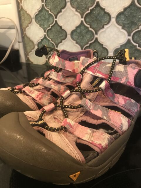 Keen Whisper Sport Sandals Pink/ Gray Women's Size 6