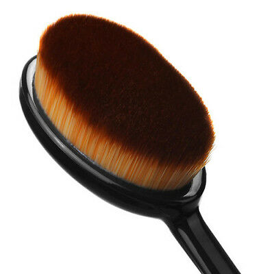 1x Cosmetic Foundation Cream Powder Blush Concealer Oval Toothbrush Makeup Brush
