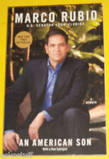 Marco Rubio US Senator 2013 An American Son NEW Biography! Nice See!!