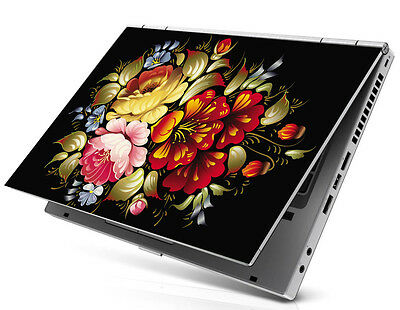 "15.6"" Laptop Notebook Skin Sticker Cover Decal Art HP DELL Asus Sony Flower"