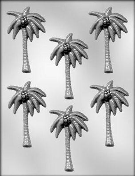 NEW Palm Trees Chocolate Candy Mold from CK #13183