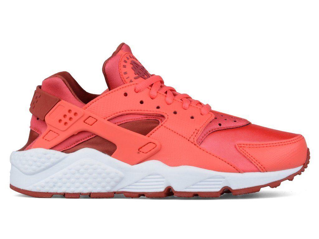Donna Nike Air Huarache Run Ember Glow Athletic Fashion Sneaker 634835 801