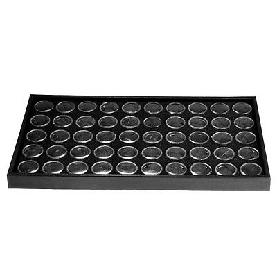 Storage Display Empty Case Plastic Box 50 Grids for Nail Art Polish Powder