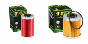 KTM-690-SMC-1st-2nd-Hiflo-Filtros-De-Aceite-Se-Ajusta-A-2008-2011-HF155-HF157