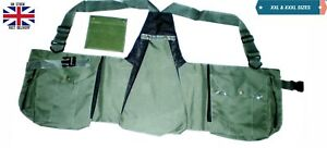 New-Falconry-Hunting-Vest-XXL-amp-XXXL-Codura-Vest-Bird-Handling-Lime-Green