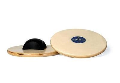 Balance Wobble Boards For Fitness Yoga Pilates And Gym Excercise (2 x 27.5 Cms)