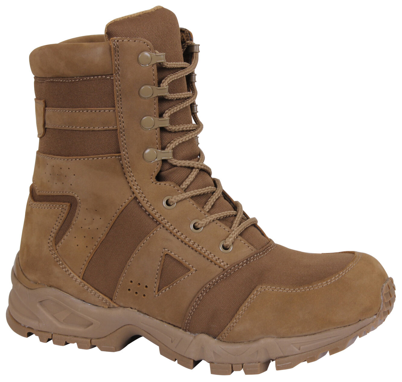 AR 670-1 Forced Entry Boots Coyote Tactical US Army Boot 8  redhco 5361