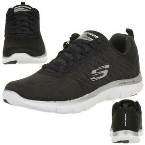 Detalles de Skechers Flex appeal 2.0 break free señora fitness zapatos Lite weight bkw ver título original