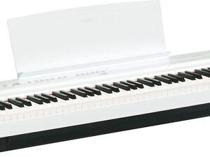 Yamaha-P-125WH-Digital-Piano-Epiano-elektrisches-Klavier-stagepiano-NEU