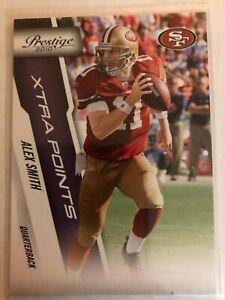 Alex Smith 2010 Prestige Xtra Points Purple #D 48/50 San Francisco 49ers SP