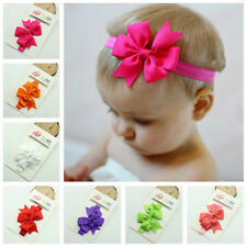 15PCS Headband Kids Girl Baby Toddler Bow Flower Hair Band Accessories Headwear