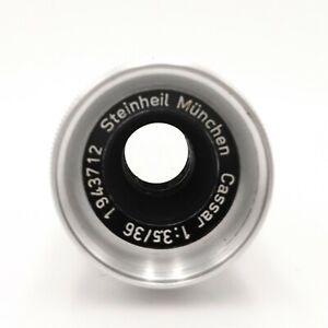 Steinheil-Munchen-Cassar-36mm-f-3-5-Cine-Lens-D-Mount-Voll-funktionsfaehig-ls-2234