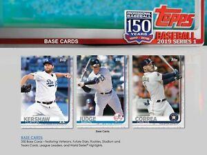 2019-Topps-Series-1-Baseball-Base-Set-350-Cards