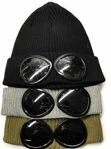 Image is loading Superme-Company-Goggle-Mens-Beanie-Knitted-Woolly-Winter- 6b999e2a8