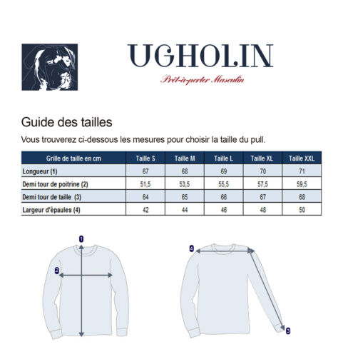 Pull Homme Fin Col V Abricot Manches Longues Massimo Ugholin
