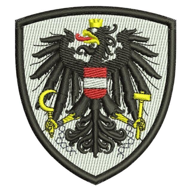 Österreich Bundesadler Bundesland Patch Aufnäher Aufbügler Wappen Austria