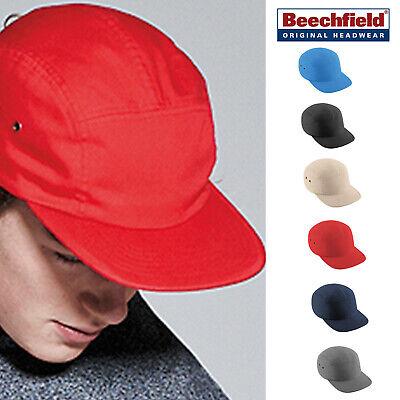 Beechfield Retro 5 Panel Cap-casual Elegante Cotone Cappello Da Baseball Per Uomo/donna-mostra Il Titolo Originale Lussuoso Nel Design