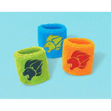 LION GUARD SWEAT BANDS (8) ~ Birthday Party Supplies Favors Disney Kion Bunga