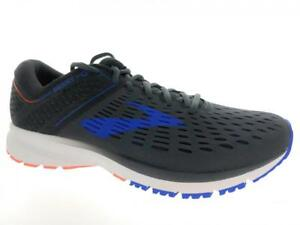 good texture best hoard as a rare commodity Details about Men's Brooks Ravenna 9 Running Athletic Shoes Ebony Blue  Orange