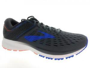 buy popular 1ba3c bcba8 Details about Men's Brooks Ravenna 9 Running Athletic Shoes Ebony Blue  Orange
