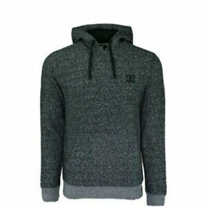 8014c89499 Details about DC Men's Rebel Simplistic Pullover Hoodie Jacket Sweatshirt  Heather Black M