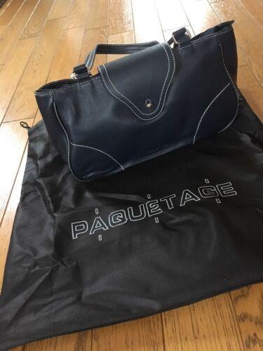 Sac Et Neuf Blanches En Marine Cuir Coutures Paquetage Bleu PqnArwPWfg