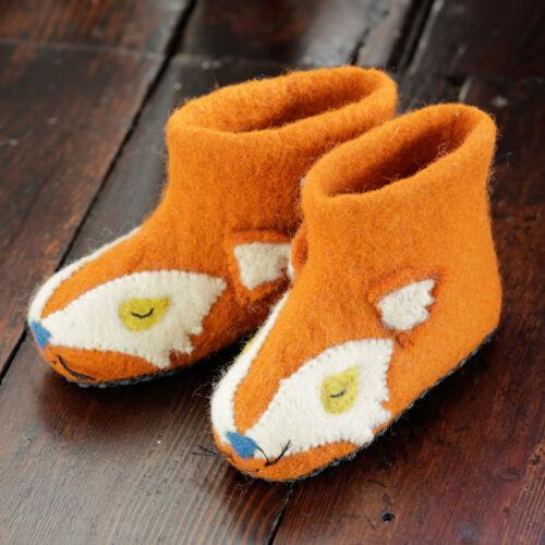 Fuchs Schaf Piccalilly Slippers Kinder Hausschuhe