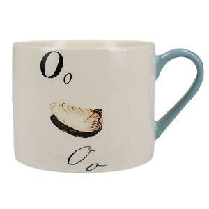 V/&A Edward Lear Nonsense Alphabet Letter E Poem Collectible Vintage Ceramic Mug
