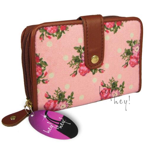 Large Purse Zipped Ladies Wallet Cards Window Big Zip Round Coin Pocket Medium