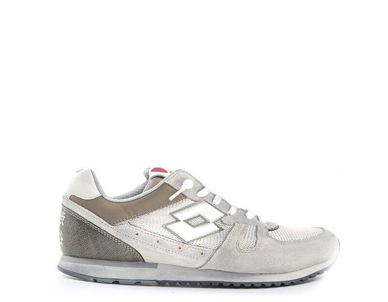 Zapatos LOTTO LEGGENDA Mujer GRIGIO/MARRONE Gamuza,Tela R7041G
