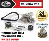 FOR CITROEN XSARA 1.8 2.0 2000-2003 TIMING CAM BELT TENSIONER KIT + WATER PUMP