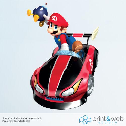 Mario Kart Vinyl Decal Wall Sticker Mario