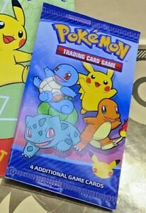 New! POKEMON CARDS ~ McDonalds 2021 Happy Meal 25th Anniversary ~Sealed ~Presale