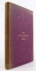 1871-THE-MAC-CALLUM-MORE-ARGYLL-FAMILY-HISTORY-CAMPBELL-CLAN-SCOTTISH-GENEALOGY