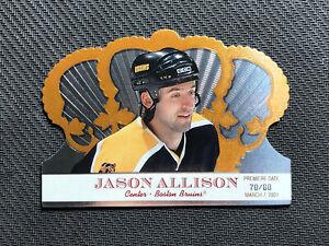 2000-01-PACIFIC-CROWN-ROYALE-JASON-ALLISON-RARE-PREMIERE-DATE-ed-70-80