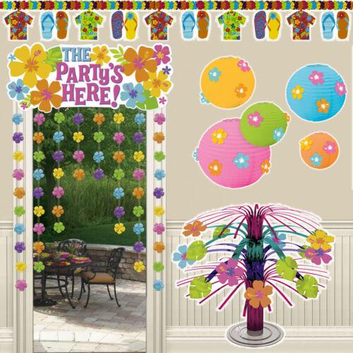 Hawaii Deko Partyzubehör Party Dekoration Sommerparty Karibik Strand Partydeko