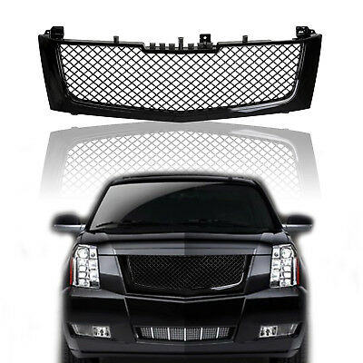 Fit 02-06 Cadillac Escalade Chrome Vertical Front Hood Bumper Grill Grille Guard