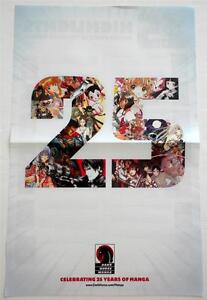 New-Dark-Horse-Celebrating-25-Years-Of-Manga-Double-Sided-Promotional-Poster