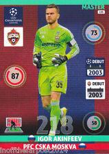 2014/15 Adrenalyn XL Champions League PFC CSKA MOSKVA Igor Akinfeev MASTER