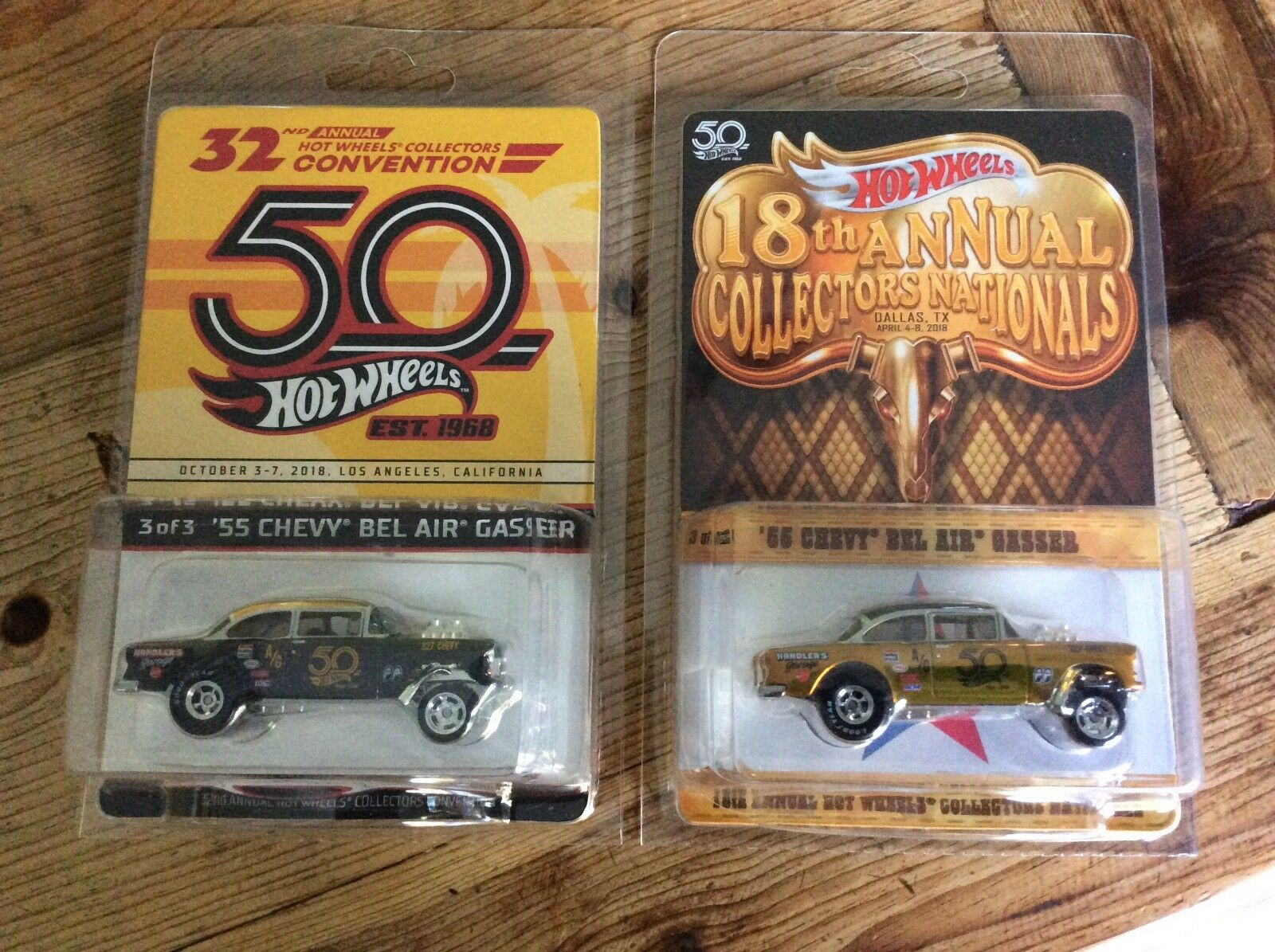 2018 HW 18th NATIONALS, 32nd FINALE 55 CHEVY BEL AIR GASSERS