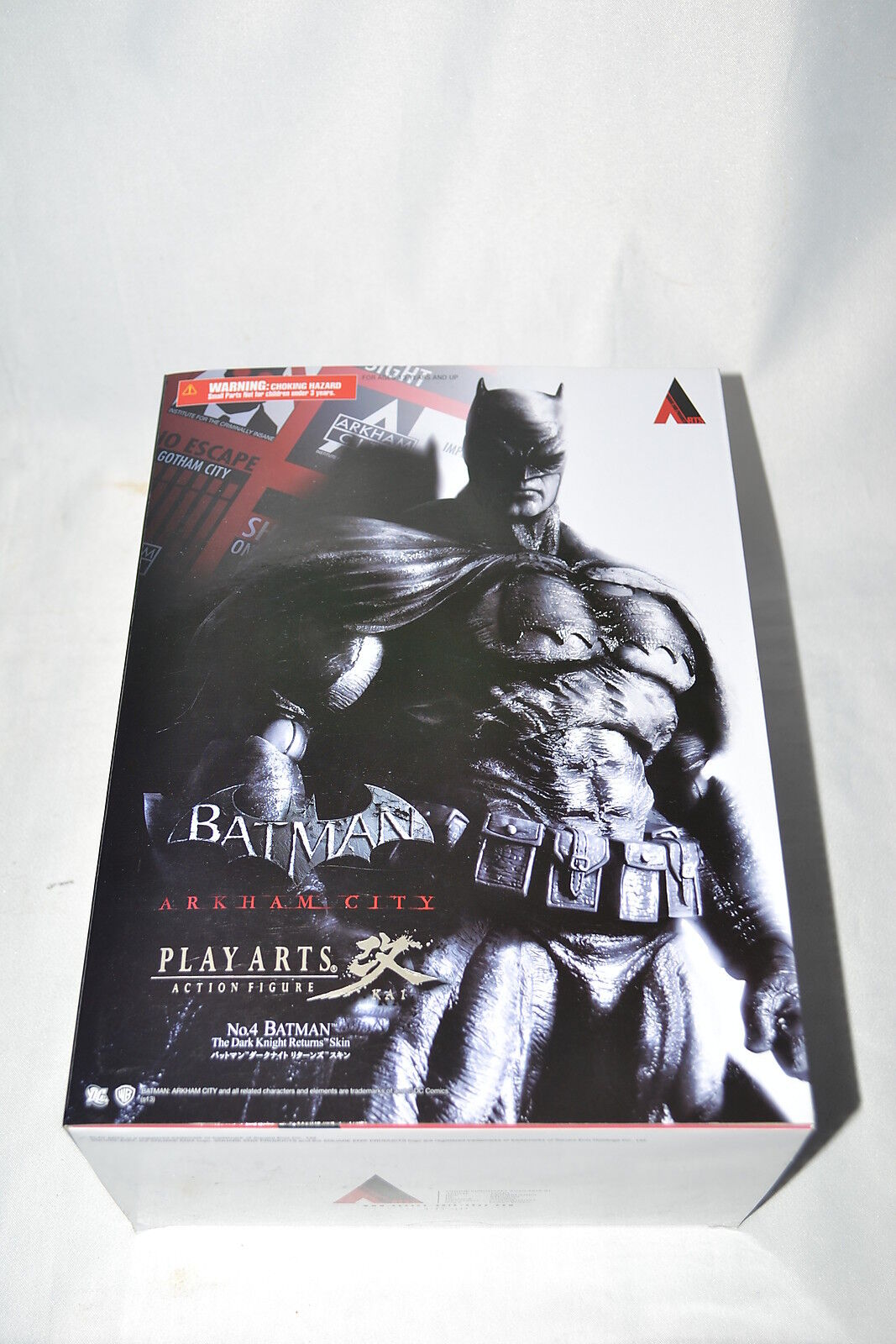 Square Enix Dc Jugar Arts Kai Batman Arkham City Dark Knight Return Batsuit Skin